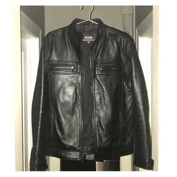 8e367a8c2 Michael Kors men's Leather Jacket